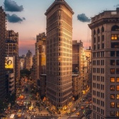 Flatiron Building, New York, New York. Photo via @bartblachnio #viewingnyc #nyc #newyork #newyorkcity #flatironbuilding