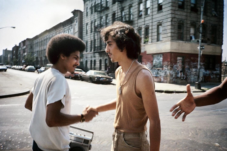 Handshake Bushwick, Brooklyn, NY, September 1984.