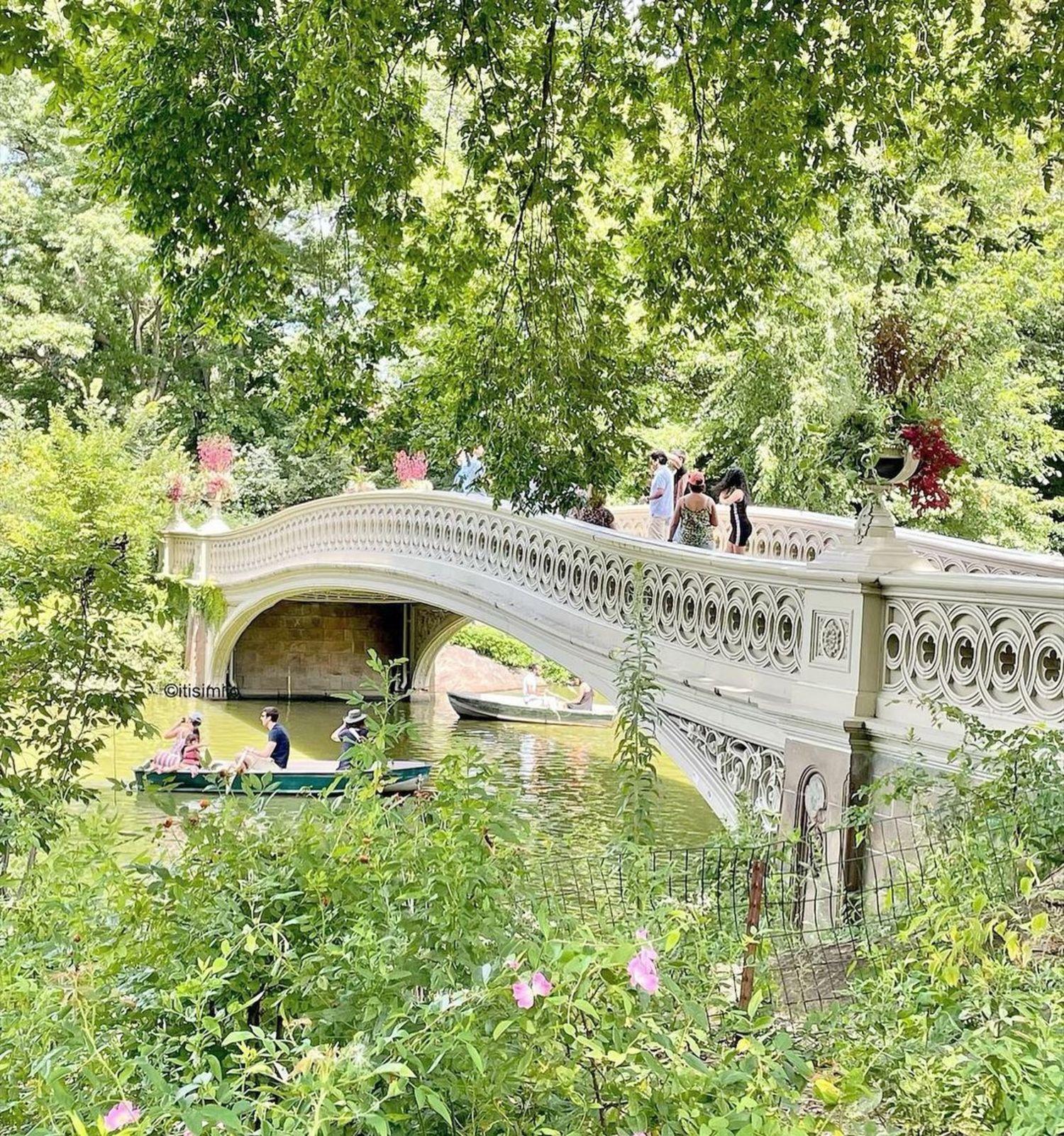 Bow Bridge, Central Park, Manhattan