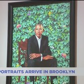 Obama portraits make their way to Brooklyn Museum