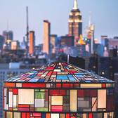 New York, New York. Photo via @beholdingeye #viewingnyc #nyc #newyorkcity #newyork #tomfruin #tomfruinwatertower