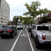 Cycling in Brooklyn, NYC - Bedford Avenue from Sheepshead Bay to Greenpoint (Full Length of Street)