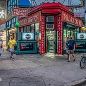 Village Cigars and Hess Triangle, Greenwich Village, Manhattan