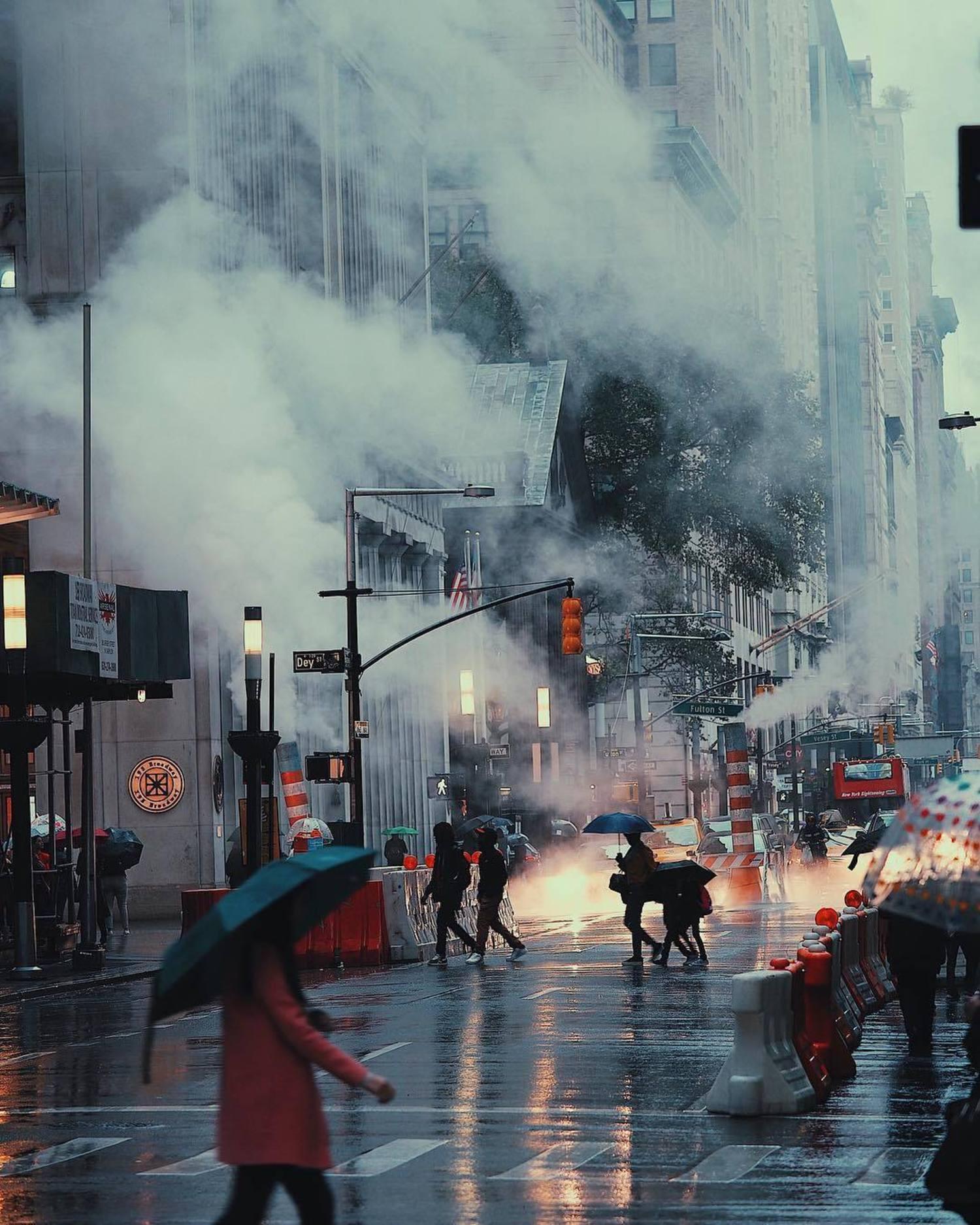 Broadway and Dey St., Financial District, Manhattan
