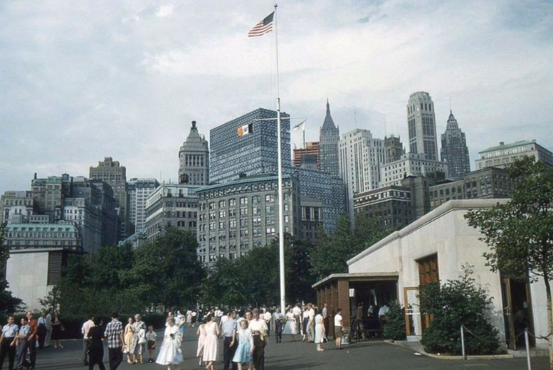Battery Park, New York City, 1959