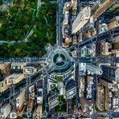 Columbus Circle and Central Park, Manhattan