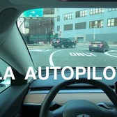 Tesla Autopilot 4K Holland Tunnel footage in a Model 3 Performance