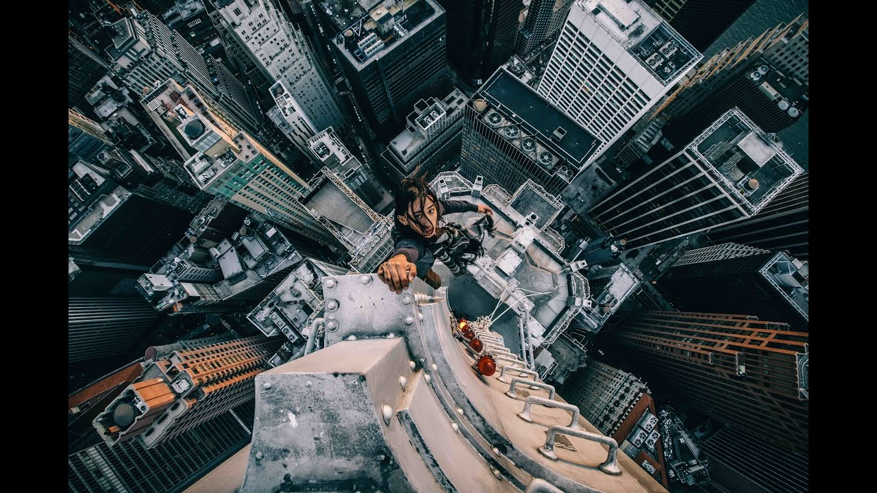 Watch urban explorer livejn climbs another skyscraper in for 24 hour beauty salon nyc