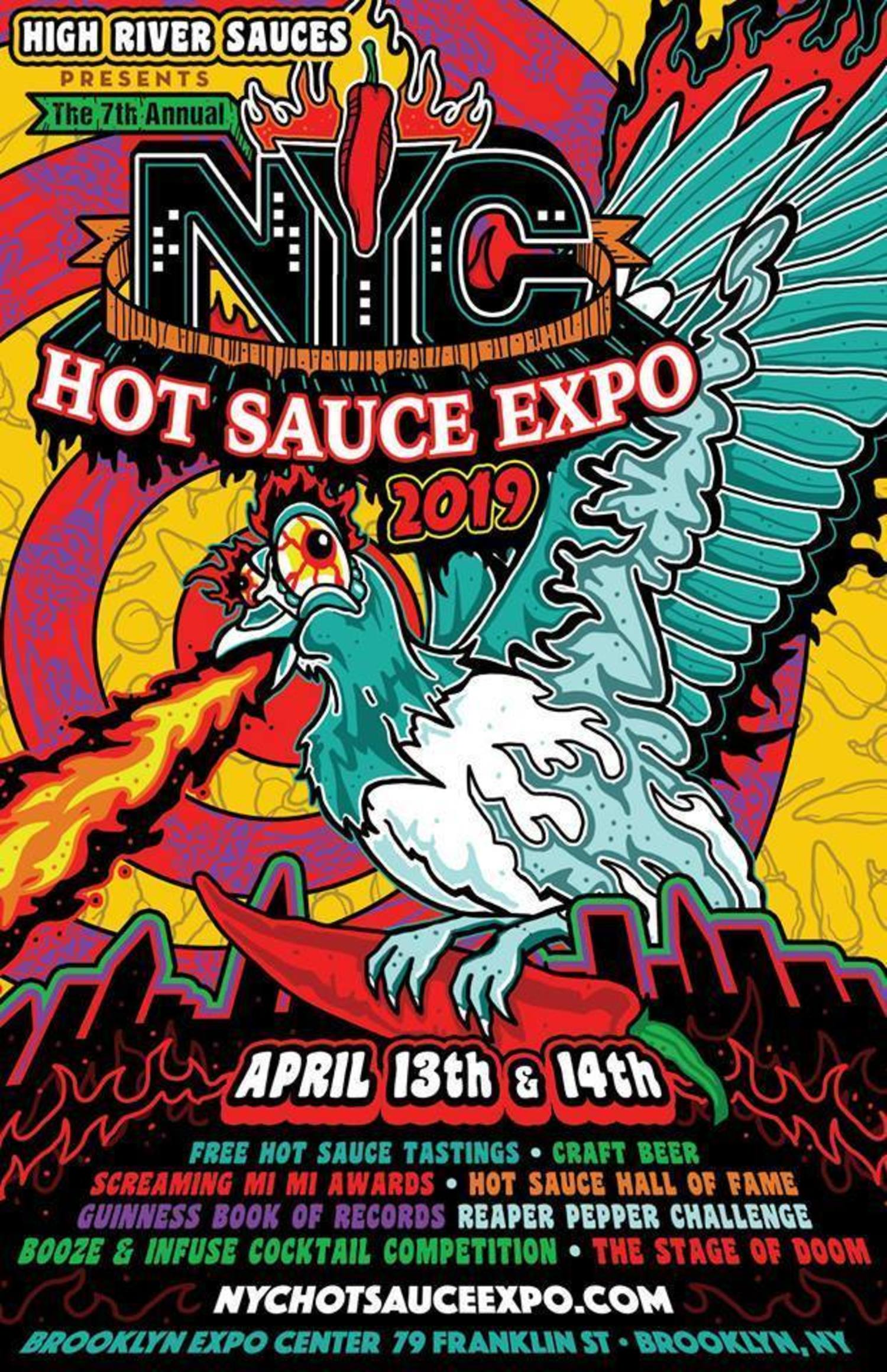 7th Annual New York City Hot Sauce Expo