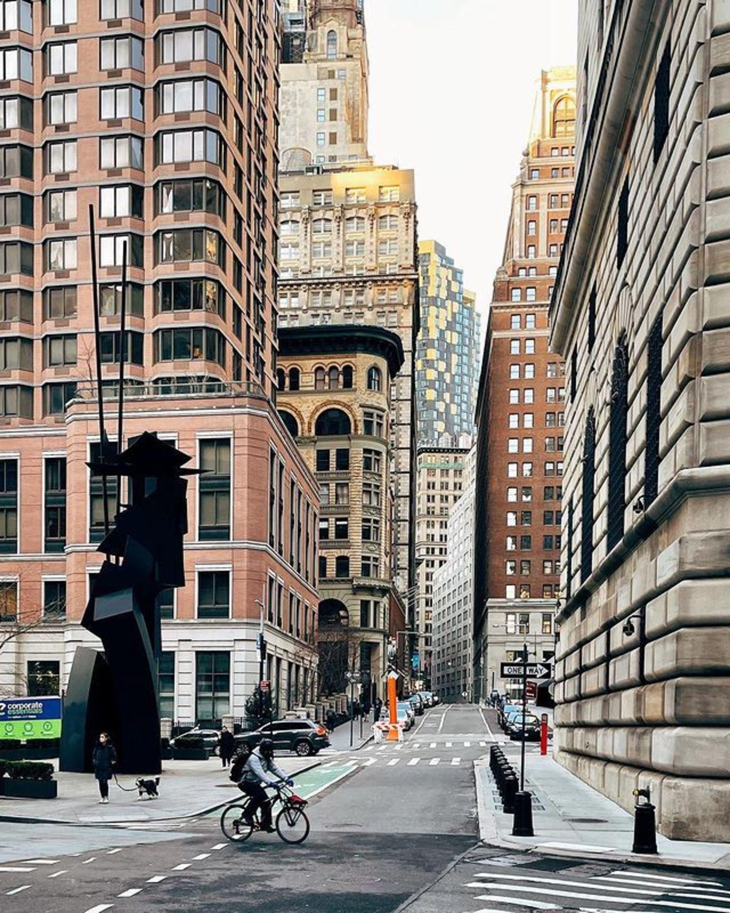 Louise Nevelson Plaza, Financial District, Manhattan