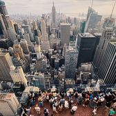 Top of the Rock, New York, New York.