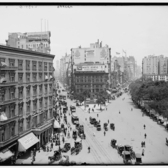 Up Broadway and Fifth Avenue, New York City, ca. 1905