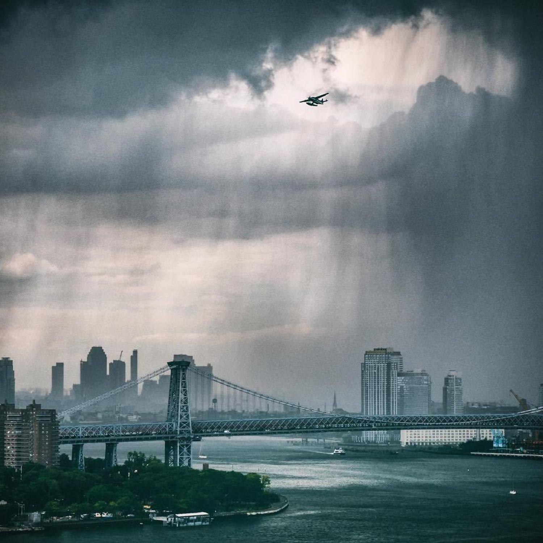 New York, New York. Photo via @bklyn_block #viewingnyc #newyork #newyorkcity #nyc #rain