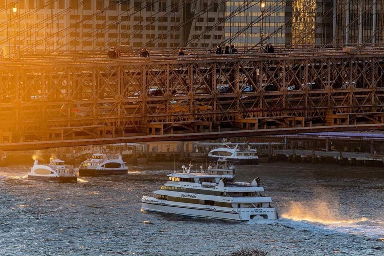 East River and Brooklyn Bridge, New York. Photo via @julienneschaer #viewingnyc #nyc #newyork #newyorkcity