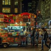 Halal food cart | New York City. New York