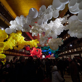 Balloons at the Ballet | Artist Jihan Zencirli's installation at the New York City Ballet for the 2018 Art Series.