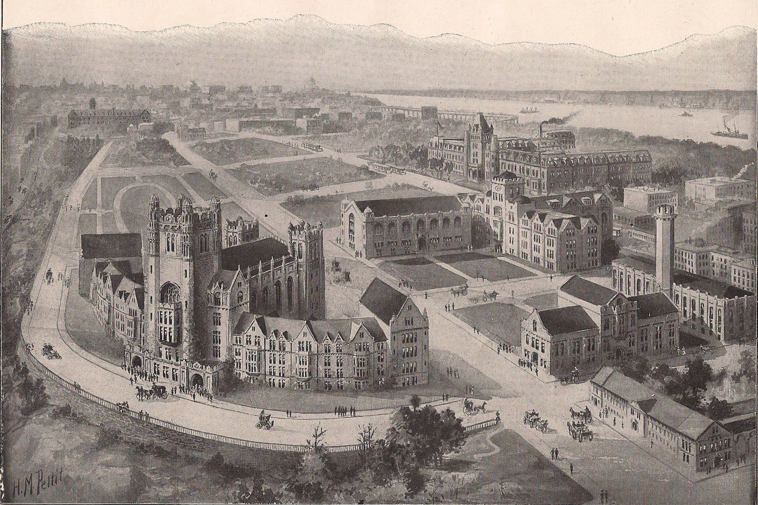 College of the City of New York (King's Views of New York)