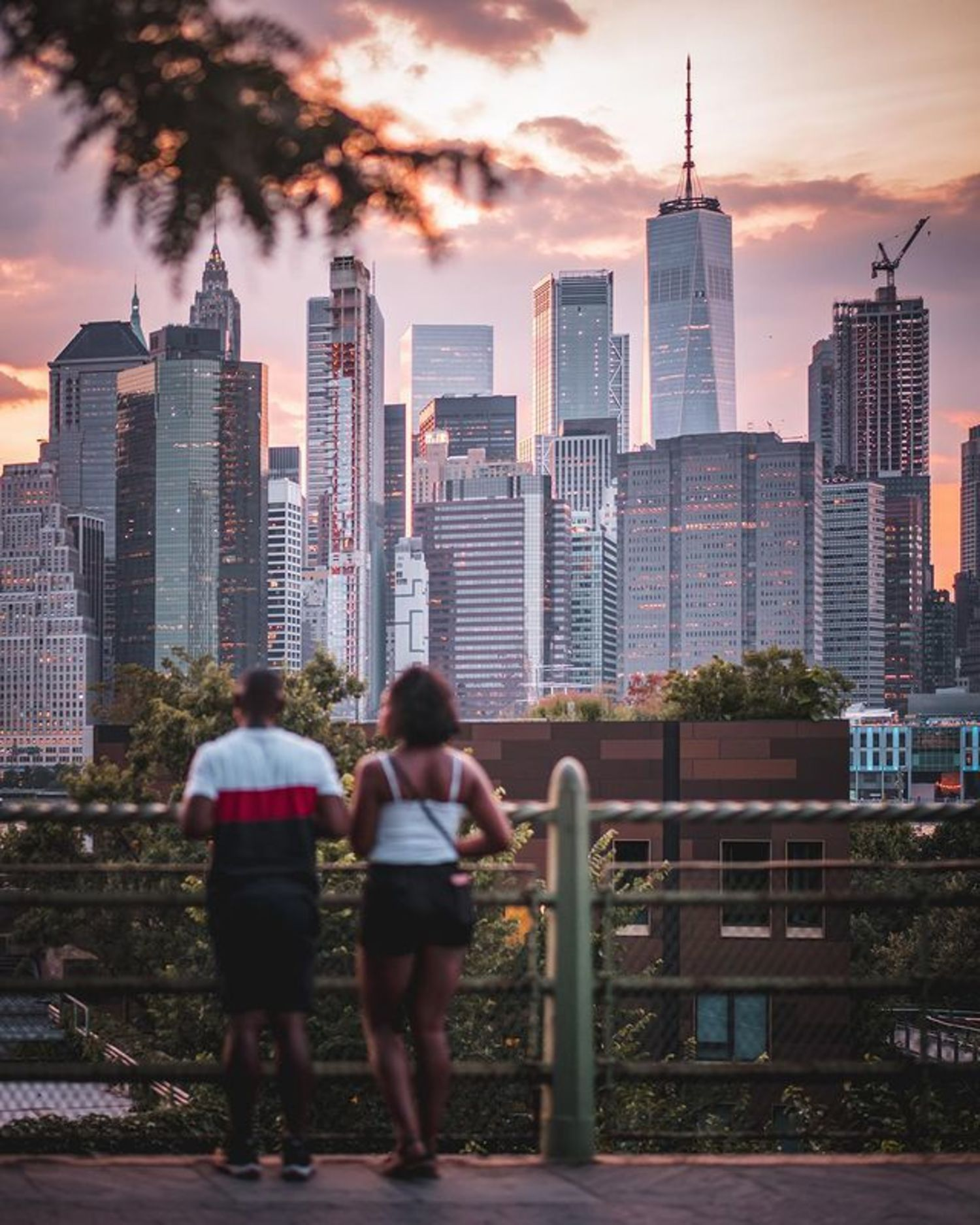Brooklyn Heights Promenade, Brooklyn Heights, Brookyln