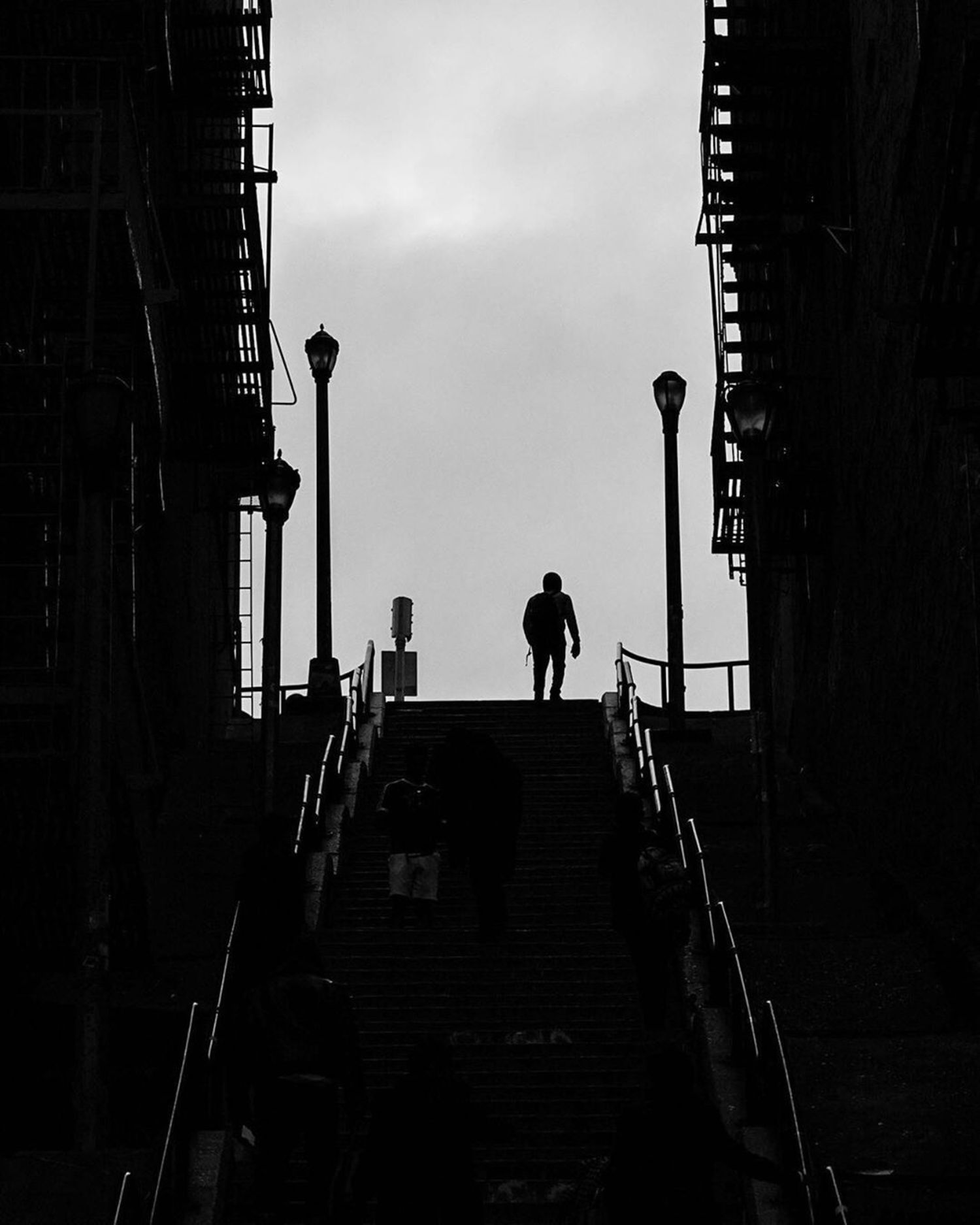 """Joker Stairs"", Highbridge, Bronx"