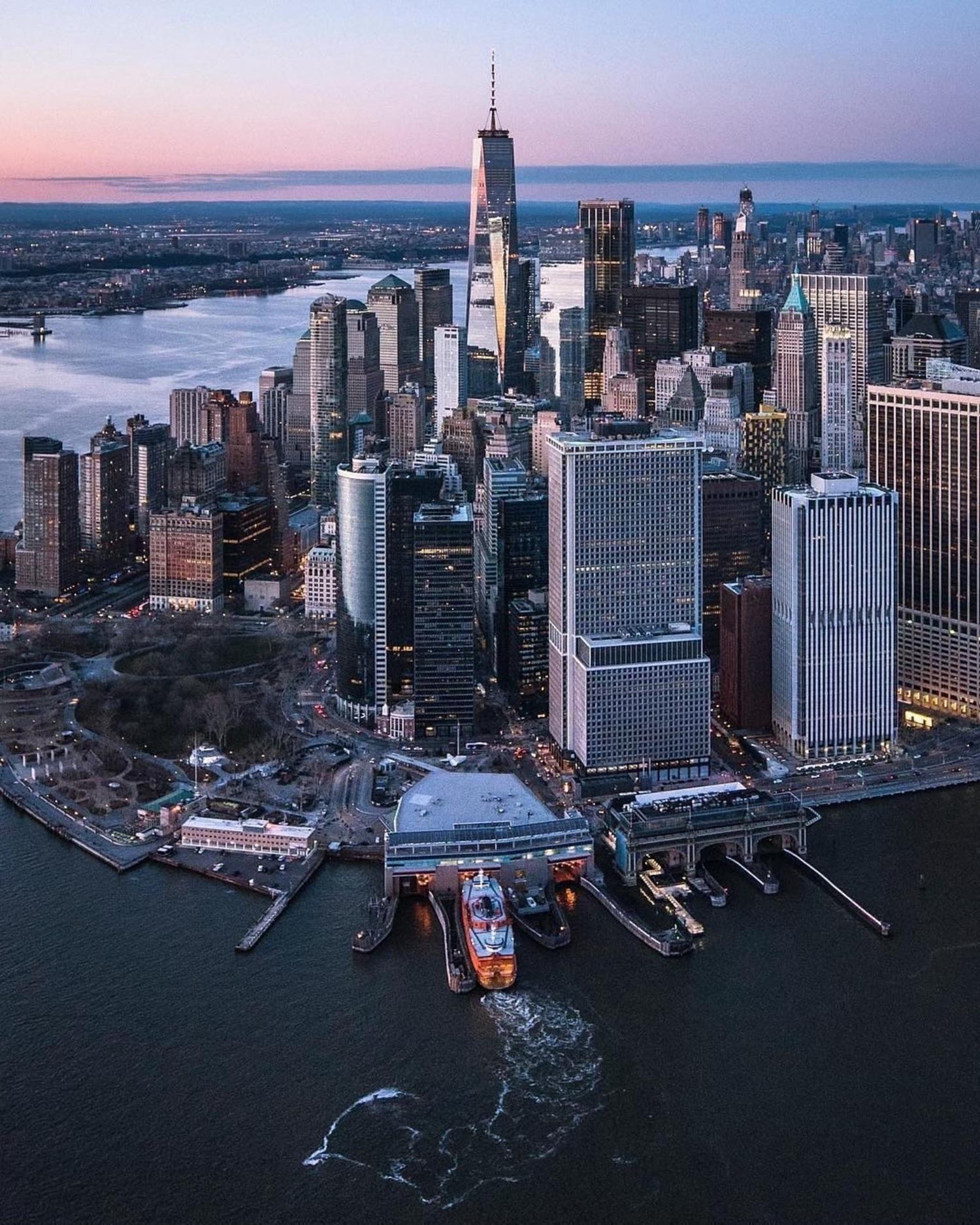 New York, New York. Photo via @flynyon #viewingnyc #nyc #newyork #newyorkcity