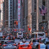 6th Avenue, Manhattan, New York.