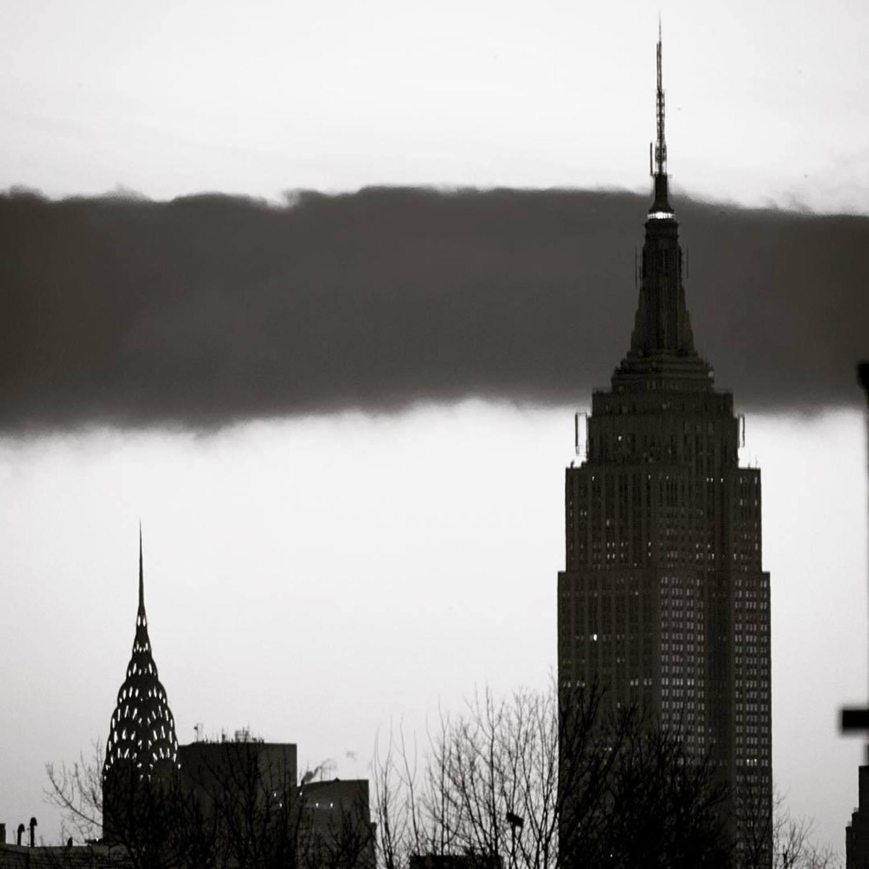 Chrysler and Empire State Buildings, Manhattan, New York.