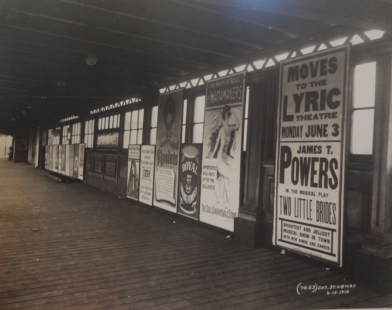 Broadway & 207th Street IRT Subway Station – 1912