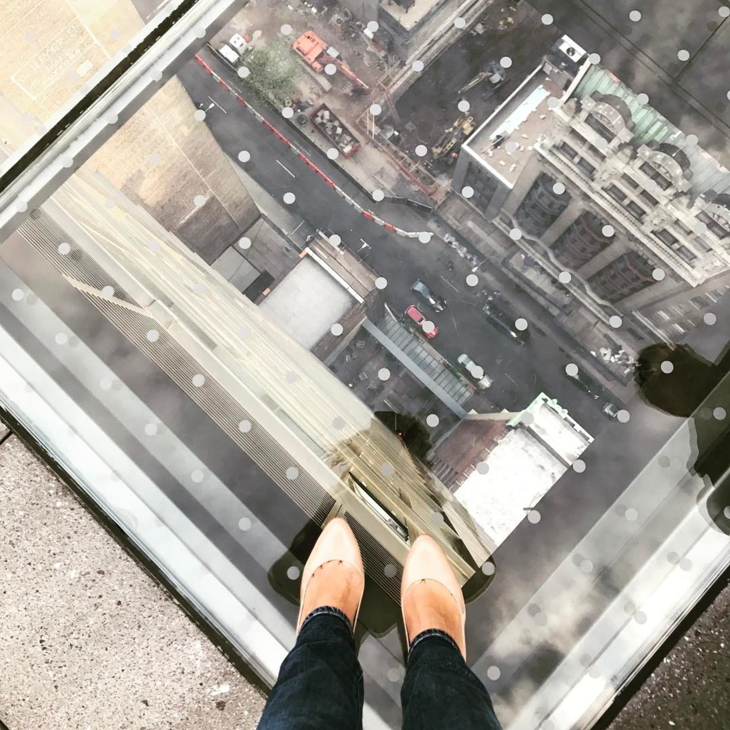 Test Your Courage At This Nomad Rooftop Bar S Glass Floor