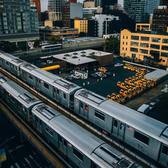 Queens, New York. Photo via @visual_mob #viewingnyc #nyc #newyork #newyorkcity #subway #queens