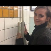 Emma Watson Hides Books Around the New York City Subway | Vanity Fair
