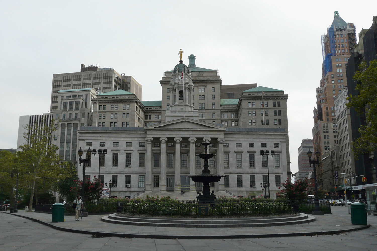 Brooklyn Borough Hall, Court Chambers Building, Brooklyn Municipal Building, 111 Livingston Street