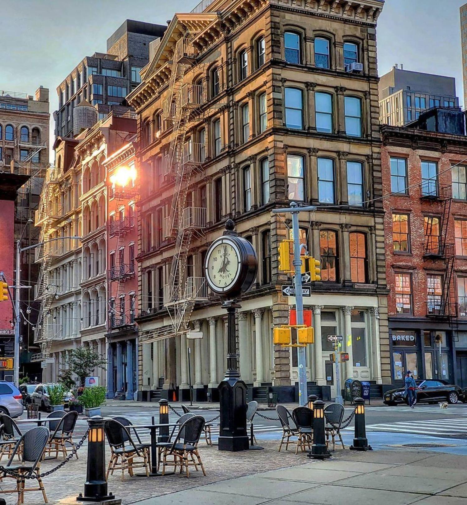 Church Street and White Street, Tribeca, Manhattan