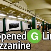 ⁴ᴷ Newly Reopened Mezzanine at Metropolitan Avenue on the G Line
