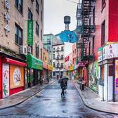 Doyers Street, Chinatown, Manhattan. Photo via @nyclovesnyc #viewingnyc #newyork #newyorkcity #nyc #doyersstreet #chinatown