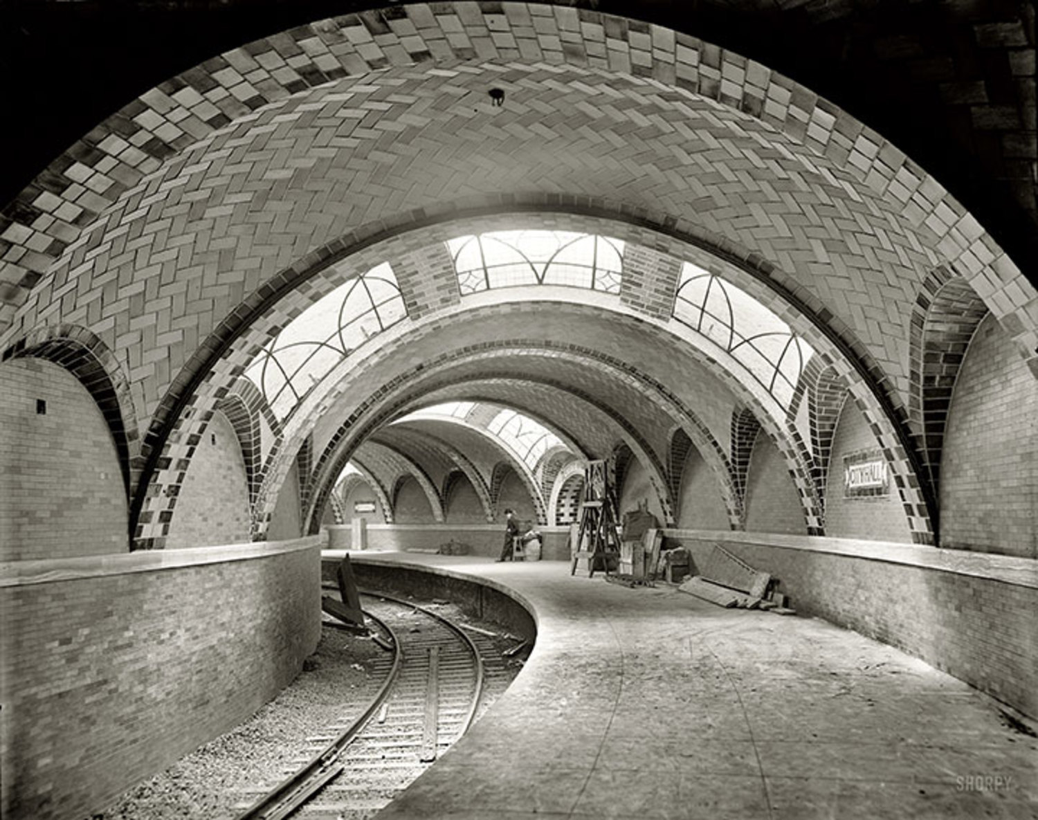 City Hall subway station.