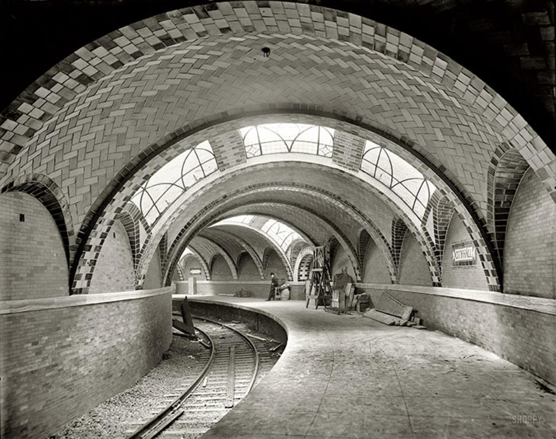 City Hall subway station.