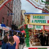 Walking Feast of San Gennaro 2021 in Little Italy on Opening Day
