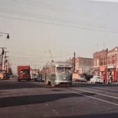 Crawford Avenue and Coney Island Avenue, New York City, 1955