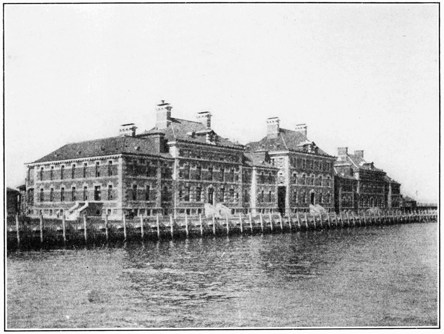 Immigrant Hospital on Ellis Island (circa 1913)