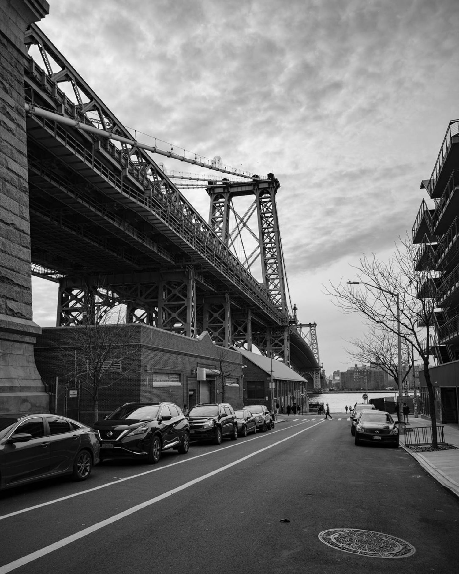 Williamsburg Bridge, Lower East Side, Manhattan