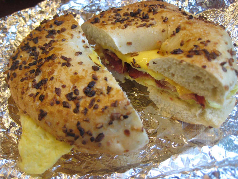 Bacon, Egg & Cheese, NYC