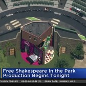 Free Shakespeare In The Park Returns