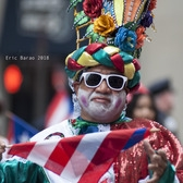 The hat!   61st Puerto Rican Day Parade, NYC.  June 10, 2018