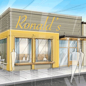 Architect's rendering of Ron's included in proposal to Boise Urban Revitalization Committee.