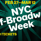 Winter 2017 NYC Off-Broadway Week