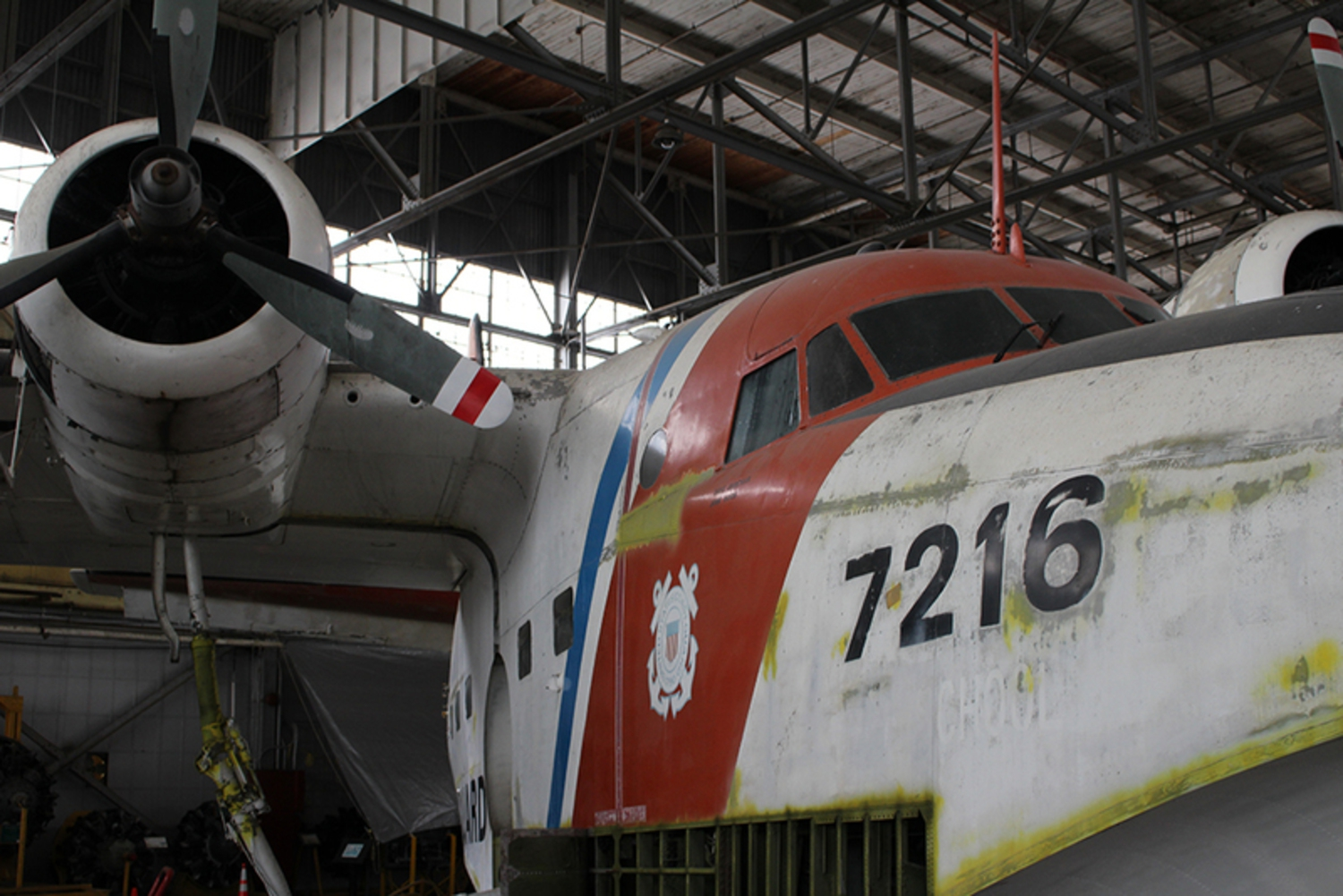 One of Brooklyn's best kept secrets, Hangar B, filled with vintage aircraft being restored.