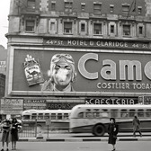 New York, New York. The Spectacular Camel Billboard at Times Square, 1943