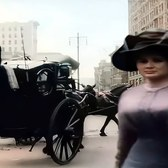 New York 1911 (New Version) in Color [60fps, Remastered] w/added sound