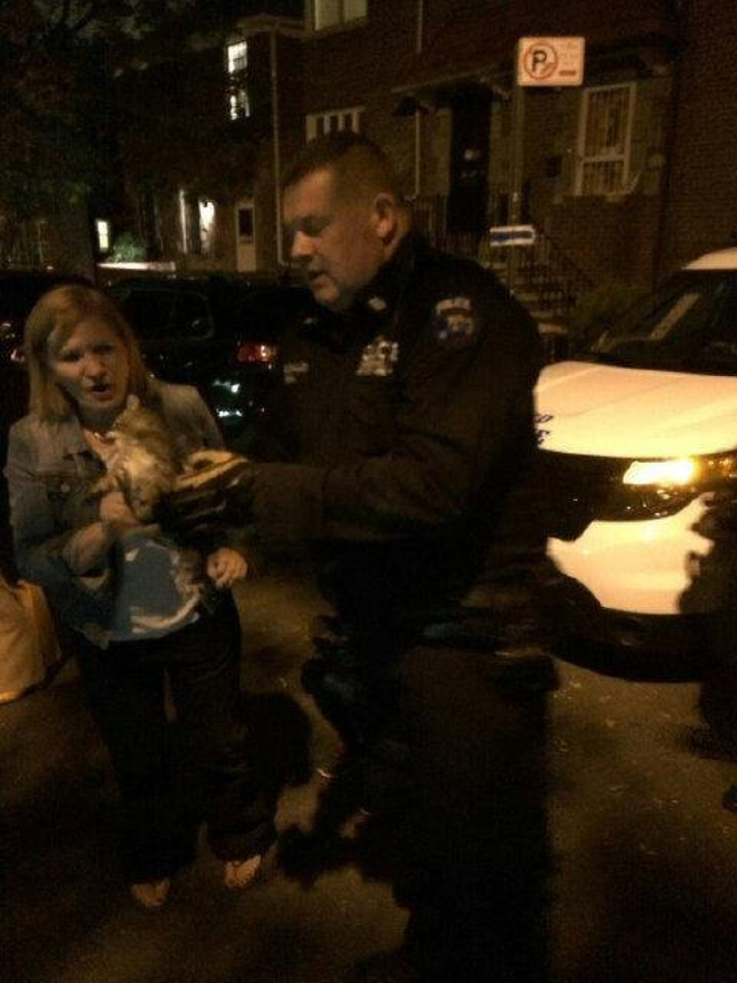 Another kitty rescue in the #112pct Thanks to ESU for their assistance http://t.co/oEeo0akhWj