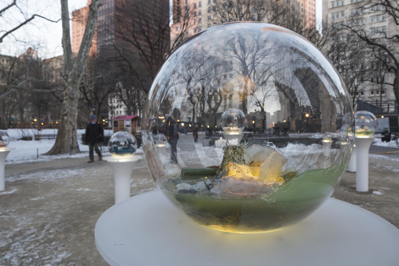 "Paula Hayes, ""Gazing Globes"", February 19th - April 19th"